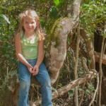 Zoe im Nationalpark