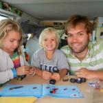 Legobauen während dem Fahren