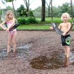 Spiel und Spass im Regen 1