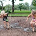 Spiel und Spass im Regen 2