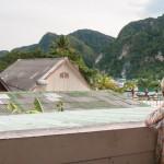 Aussicht von unserem Balkon auf Phi Phi