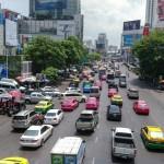 Bangkoker Strassenverkehr 1